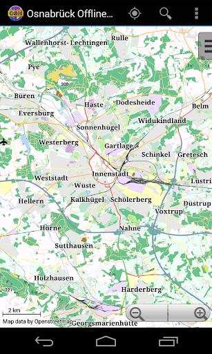 Osnabrück Offline City Map