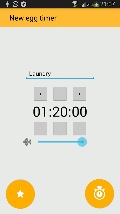 Egg Timer- screenshot