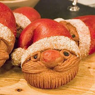 Santa Bread.