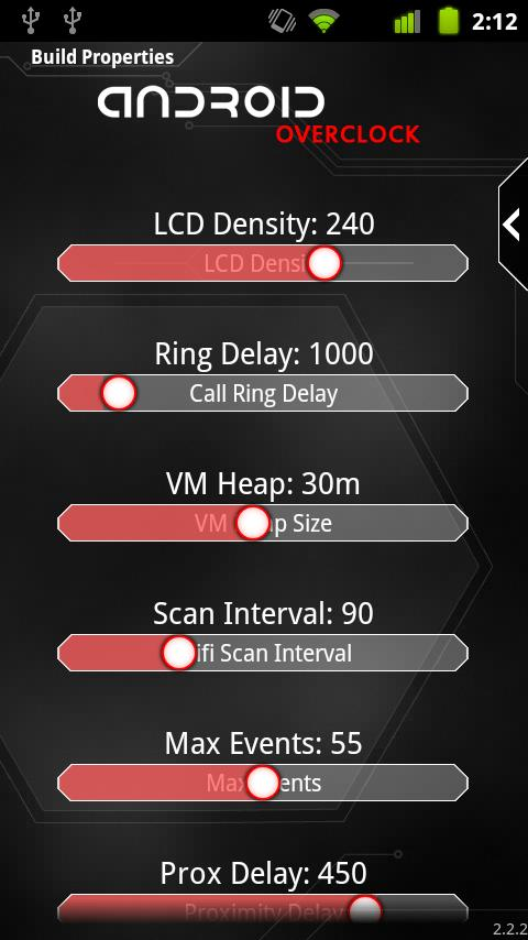 Overclock for Android - screenshot