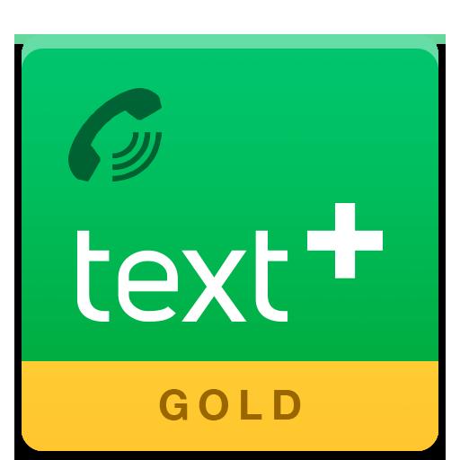textPlus Gold Free Text+Calls 社交 App LOGO-APP試玩