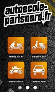 Autoécole-parisnord - screenshot thumbnail