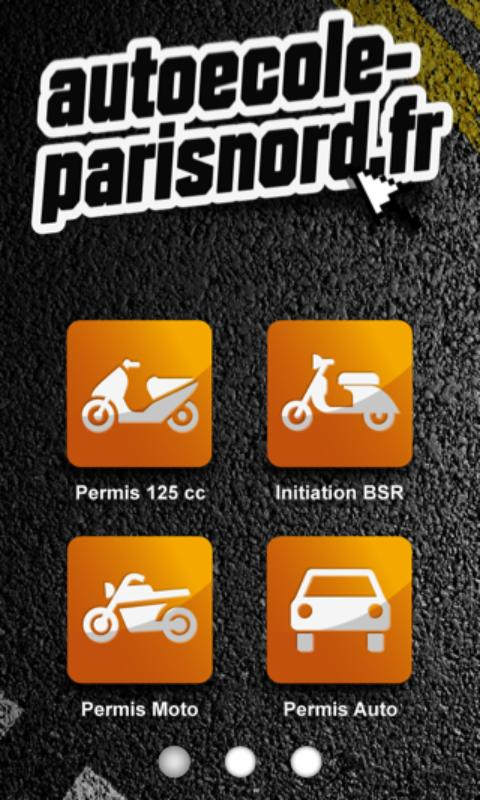 Autoécole-parisnord - screenshot