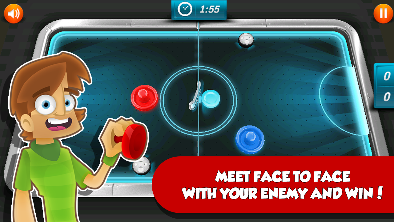 Air Hockey: Puck Duel - screenshot