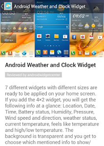 Weather Clock Widget Reviews – Let's get to the point and