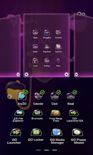 B.S.Love Next Launcher Theme - screenshot thumbnail