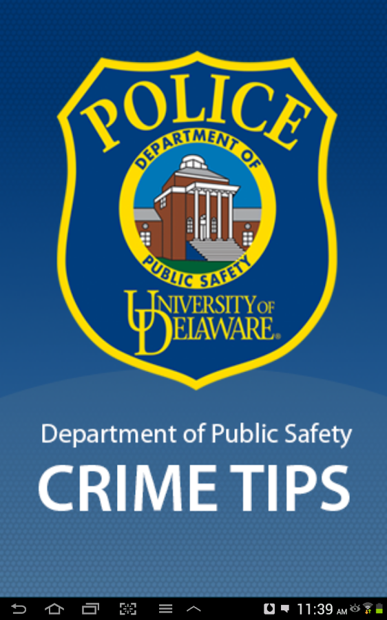 UDPD Crime Tips - screenshot