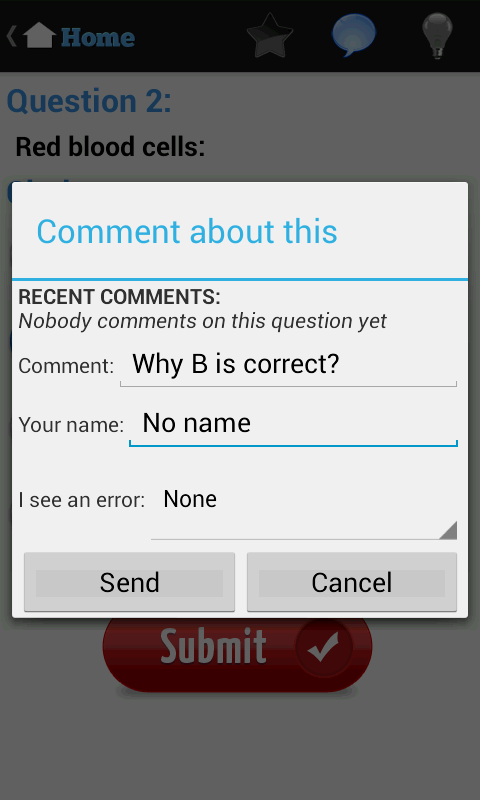 English Grammar Test - screenshot