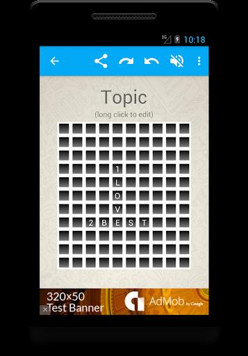 Crossword for Whatsapp