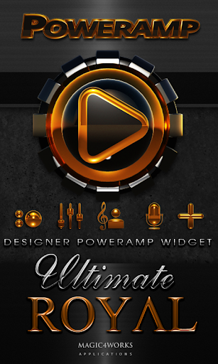 Poweramp Widget Royal