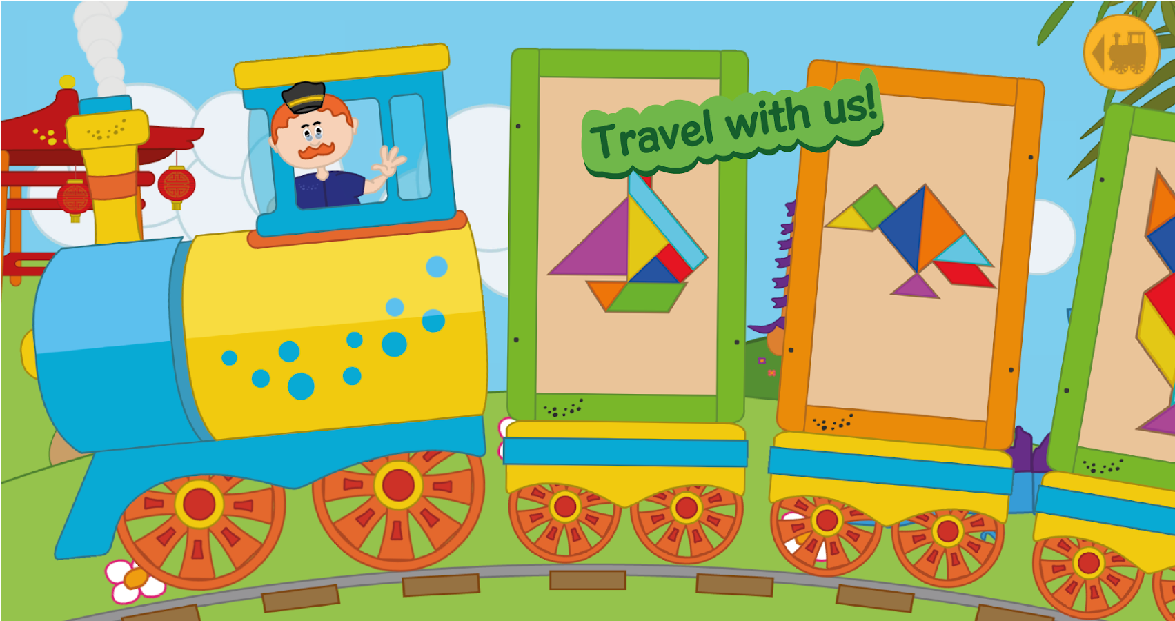 kids tangram puzzle game android apps on google play
