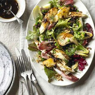 Warm Chicken & Chicory Salad Recipe