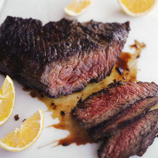 Pacific Rim Glazed Flank Steak