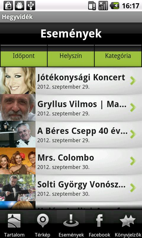 Hegyvidék (Galaxy Mini) - screenshot