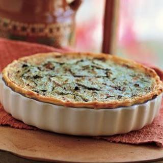 Zucchini Quiche (Quiche de Calabacitas)