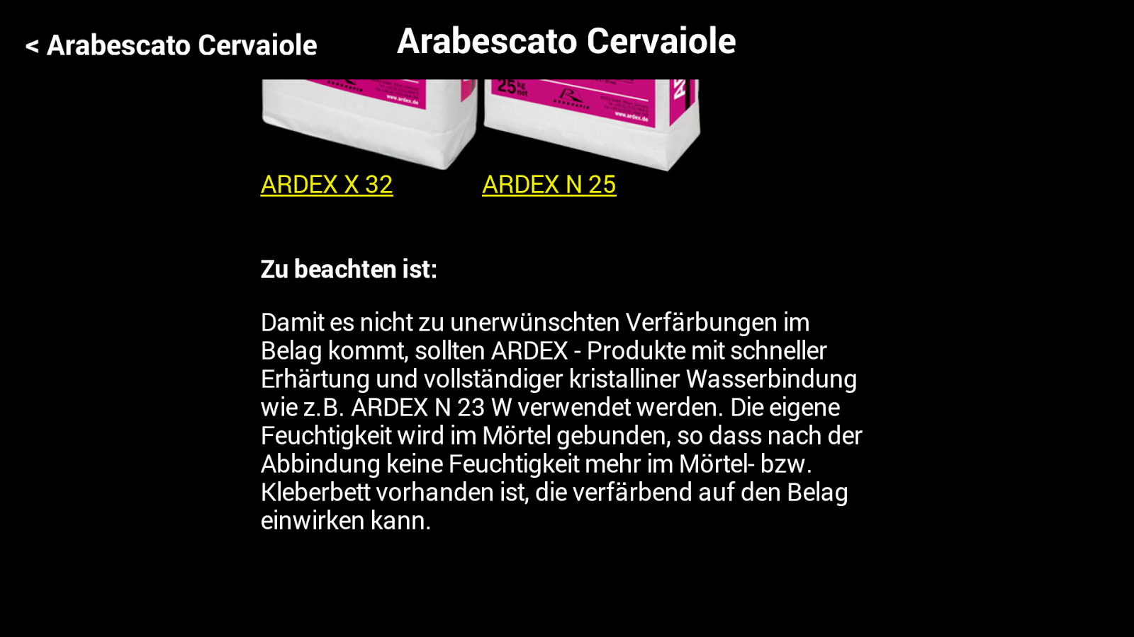 ARDEX AStone- screenshot