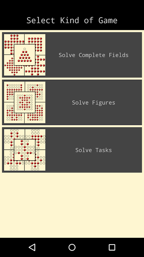 Pegs / Solitaire (Free)- screenshot