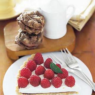 Fresh Raspberry Cream Tart