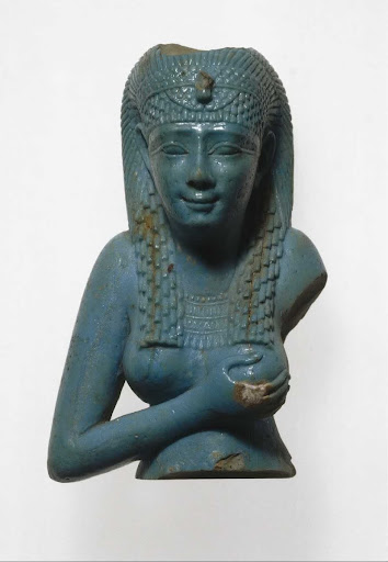 Upper Part of Figurine of the Goddess Isis