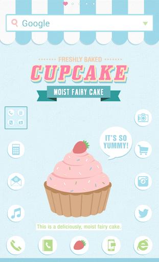 Cupcake dodol launcher theme