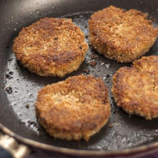 Spicy Carrot Burgers.