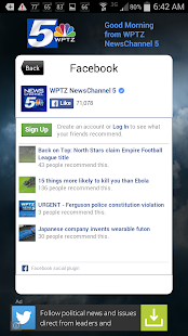 Alarm Clock WPTZ NewsChannel 5 - screenshot thumbnail