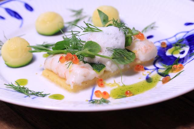 Polenta Tart with Lobster and Ariake Shellfish Broth Recipe