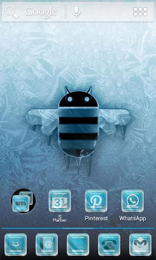 ADW NOVA - Frozen Android