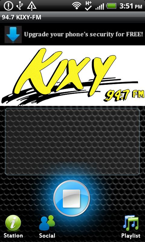 94.7 KIXY-FM - screenshot