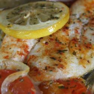 Sole Fillets with Paprika Recipe