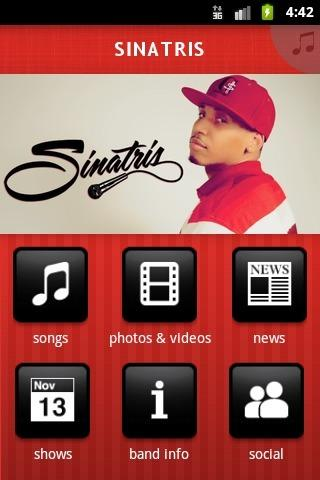 SINATRIS - screenshot