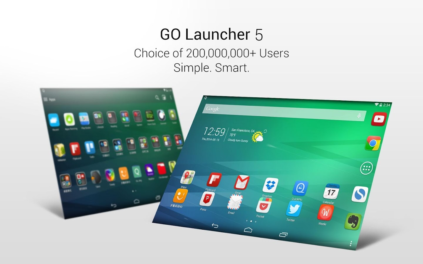 GO Launcher EX:Temi&Sfondi- screenshot