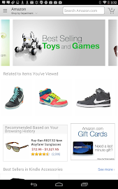 Amazon for Tablets Screenshot 1