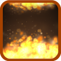 Flame 3D Live Wallpaper icon
