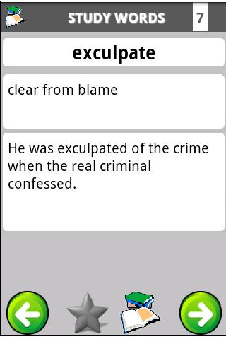 Vocabulary Bible Lite- screenshot