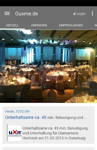 Guxme.de Künstler Musik Events