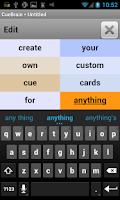 Screenshot of CueBrain! learn spanish + more