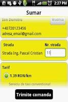 Screenshot of Grant Taxi Bucharest