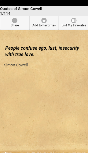 Quotes of Simon Cowell