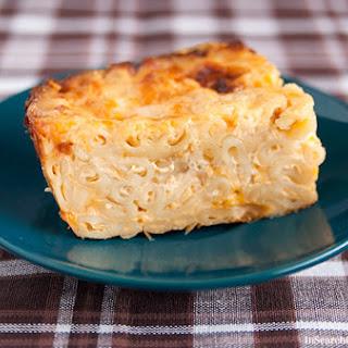 Caribbean Macaroni Pie.