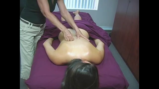 Relaxing Back Massage Therapy