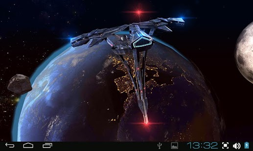 Real Space 3D Free lwp Screenshot