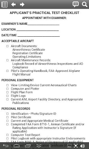 【免費書籍App】Airplane Pilot Test Standards-APP點子