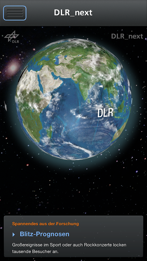 DLR_next – Screenshot