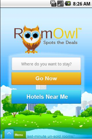RoomOwl - screenshot