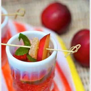 Plum Wine Sangria Recipes.