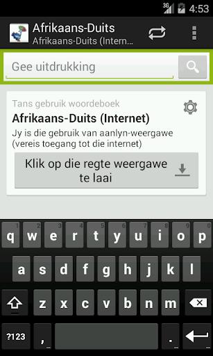 Afrikaans-German Dictionary