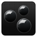 Sphere Black GO Launcher Theme logo