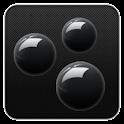 Sphere Black GO Launcher Theme logo