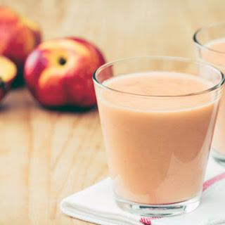 Peaches & Cream Smoothie.